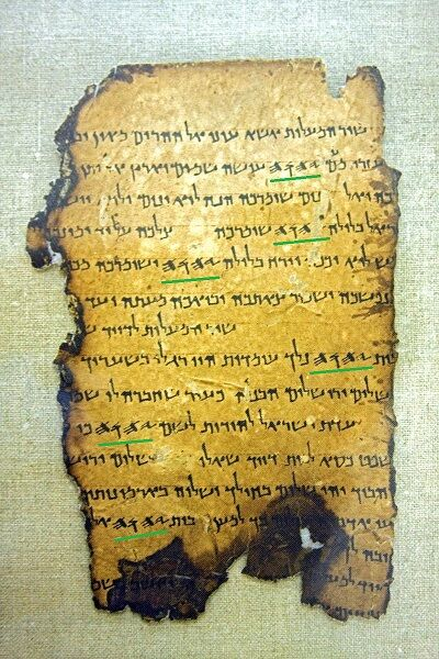 JESUS en el pergamino 11T5