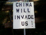 China will invade US