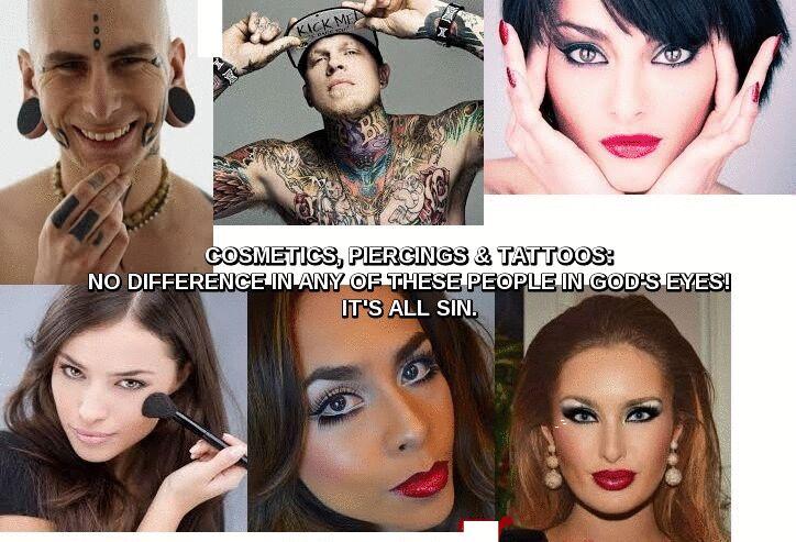 6 tatooed people