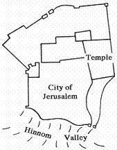 Valley of Hinnom map