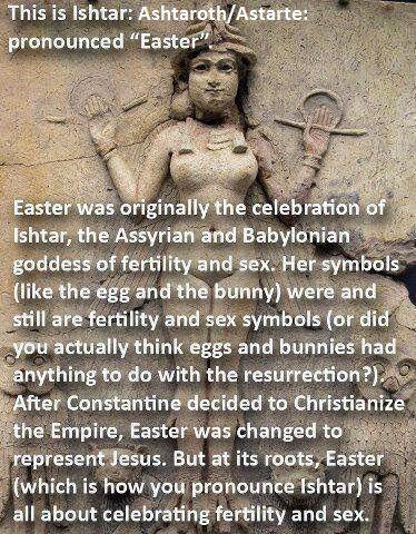Ishtar/Easter idol