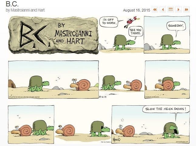 snail turtle comic