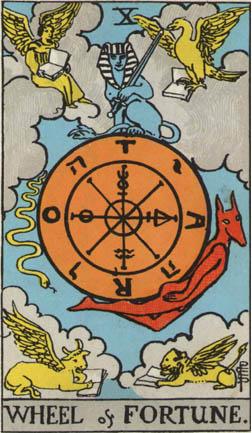 YHWH tarot card