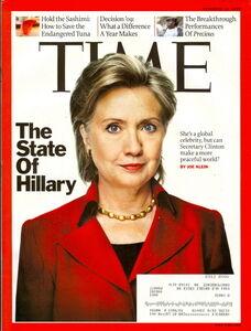 Hillary Clinton Time Magazine devil horns