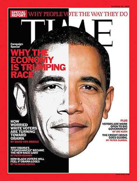 Obama Time Magazine devil horns