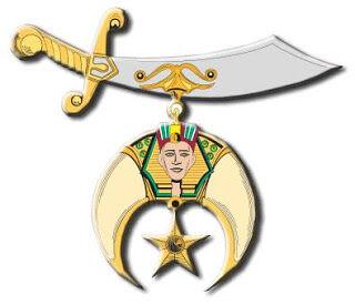 Shriner's sword